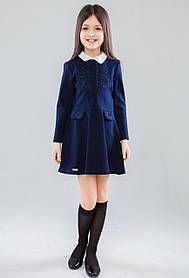 Школьная форма для девочек Энрика Платье Синий Suzie Украина