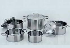 Наплитная посуда из нержавеющей стали