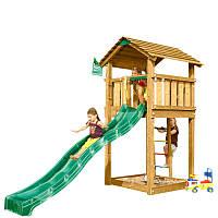Детский городок с горкой Jungle Gym Cottage