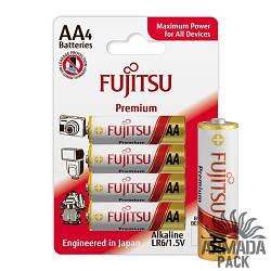 Батарейки FUJITSU Alkaline Premium AA LR6 (4 шт)