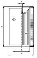 Фильтроэлемент CRC 340, Фильтр RFC 340, RSC 340, Sofima