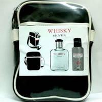 Мужской набор whisky silver set 100 ml + b/s 150 ml + косм.