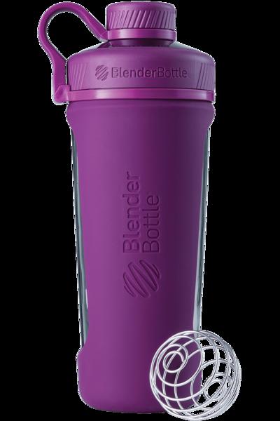 Спортивная бутылка-шейкер BlenderBottle Radian Glass Purple (скло )820мл (ORIGINAL)