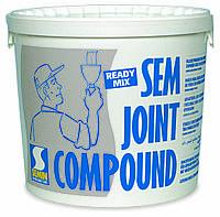 Шпаклевка финишная полимерная SEM JOINT COMPOUND TM SEMIN, 7кг