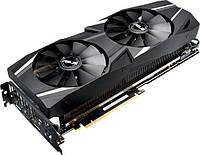Видеокарта ASUS Dual GeForce RTX 2070-O8G ОСАГО