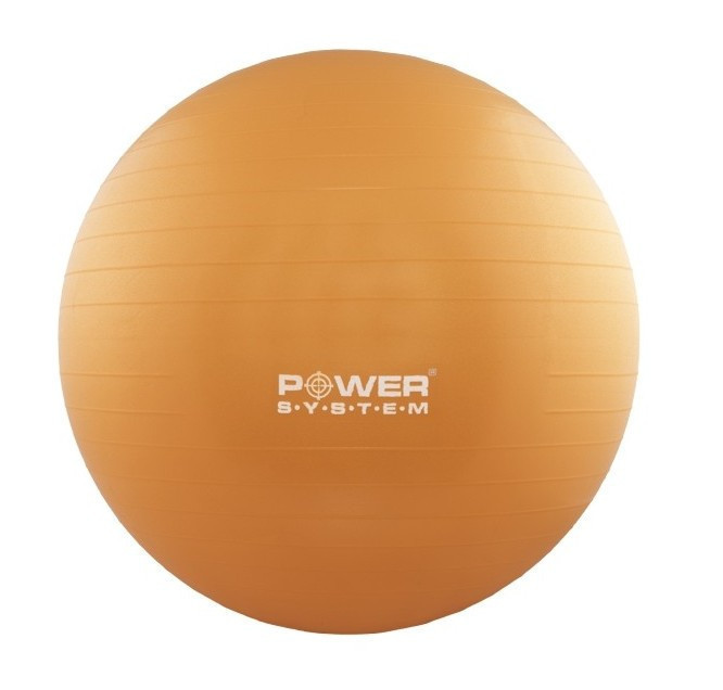 Мяч для фитнеса и гимнастики POWER SYSTEM PS-4013 75cm Orange