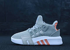 Женские кроссовки Adidas EQT ADV Grey. ТОП Реплика ААА класса.