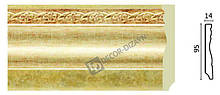 Плинтус напольный Арт-Багет 153-933, интерьерный декор