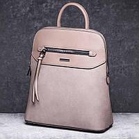 Рюкзак женский бежевого цвета DAVID JONES 6110-3, фото 1