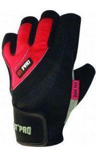 Перчатки для тяжелой атлетики Power System X1 Pro FP-01 Red L