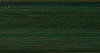 Плинтус с кабель  каналом и мягким краем. BS14 Зеленый, фото 1
