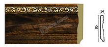 Плинтус напольный Арт-Багет 153-1084, интерьерный декор