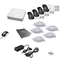 Комплект IP видеонаблюдения Uniview 4OUT 2MEGA