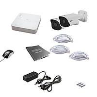 Комплект IP видеонаблюдения Uniview 2OUT 4MEGA