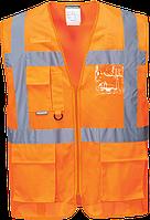 Жилет Executive Athens из сетчатой ткани MeshAir C376