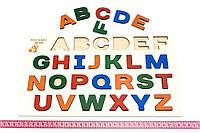 Досточка Вкладки Абетка англійська Розумний лис (90092), фото 1