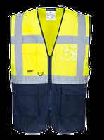 Светоотражающий двухцветный жилет MeshAir Executive C377