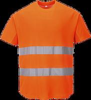 Сетчатая футболка C394