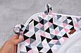 """Комплект для купання малюка """"Delta"""" рожеве, фото 6"""