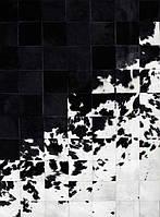 Необычные дизайнерские ковры с переходом от черного к белому цвету