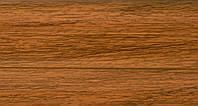 Плинтус с кабель  каналом и мягким краем BS18 Дуб золотой, фото 1