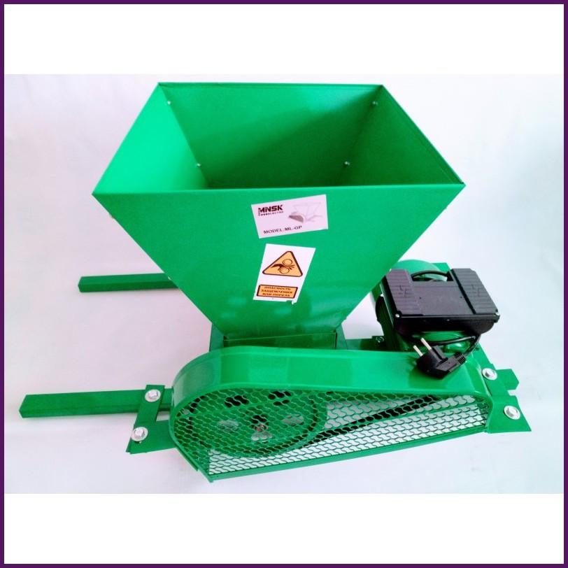 Пресс-дробилка для винограда с мотором 900 Вт до 500 кг в час