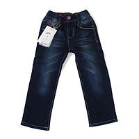 Детские утепленные джинсы свободного кроя