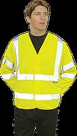 Светоотражающая куртка C473 Желтая XX3X