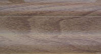 Плинтус с кабель  каналом и мягким краем BS19 Итальянский орех, фото 1