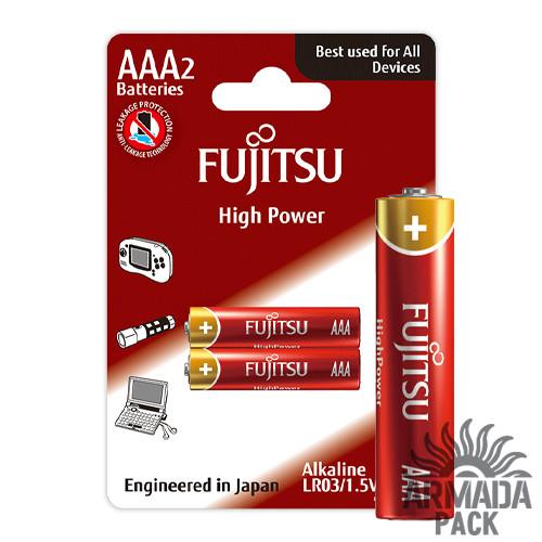 Батарейки FUJITSU Alkaline High Power AAА LR3 (2 шт)