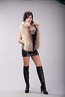 Куртка/жилет из аукционной рыжей лисы, фото 1