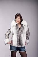Куртка/жилет из аукционной арктической лисы, фото 1