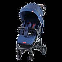 Детская прогулочная коляска Quatro Nani синяя (кватро нани)