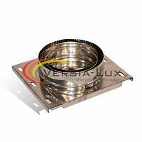 Дымоходная подставка настенная разгрузочная (с теплоизоляцией из нержавеющей стали) Версия-Люкс