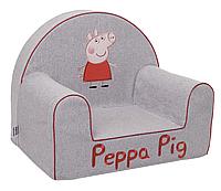 Мягкое кресло в детскую  «Свинка Пеппа», водоотталкивающая ткань