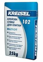 Клей для керамической  плитки морозостойкий, MULTI 102 Kreisel