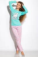 Пижама женская 317F083 (Бирюзовый)