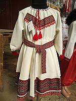 Гарне дитяче плаття в українському стилі