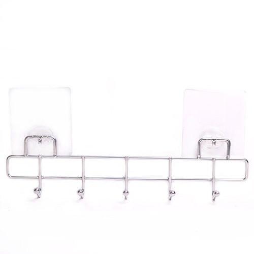 Крючки Besser 5 шт 31.5*4.5*8.5 см с креплением хромированная сталь