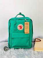 Рюкзак стильний міський Fjällräven Kanken Classic зелений
