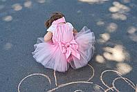 """Юбка-пачка для девочки """"розовая"""""""