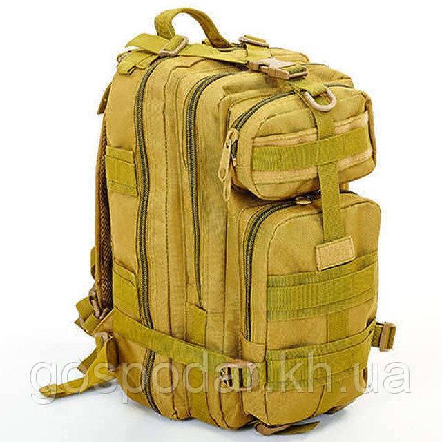 Рюкзак тактический рейдовый SILVER KNIGHT 35 литров 3P Хаки