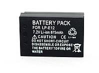 Аккумулятор для фотоаппаратов CANON 100D, CANON EOS M, EOS M2, EOS M10 - LP-E12 (аналог) - 875 ma