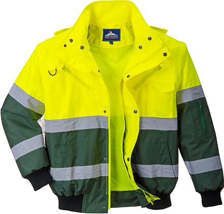 Светоотражающая куртка-бомбер X C565