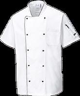Вентилируемый куртка для повара C676