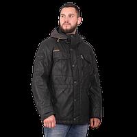 Мужская осенняя куртка Camel Active 420274-09 чёрного цвета