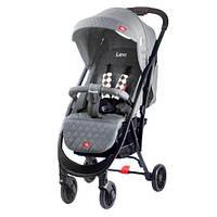 Детская прогулочная коляска Quatro Levi 14 серый