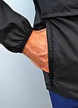 Мужской весенний Анорак (ветровка) Jordan черный о, фото 8