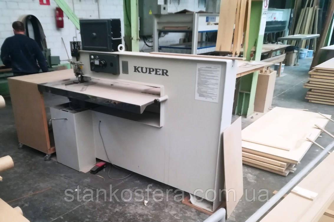 Ребросклеивающий станок Kuper FW1150 бу 2008г. для сшивки шпона