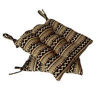 Подушка на стул гобеленовая Этно орнамент 1  40*40 см подушка для стула табурета